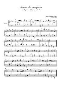 Marche des trompettes - Jean-Baptiste Lully